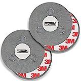 mumbi 2er Set Magnetbefestigung für Rauchmelder...