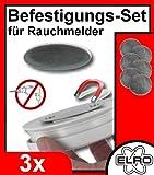 3er-Set Magnet Befestigung für Rauchmelder,...